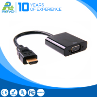 HDMI male to VGA female / white shell 1080p hdmi converter