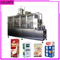 Different capacity Combibloc aseptic carton box filling machine