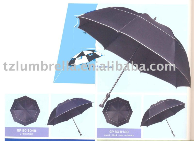 UV Resistent Sun Umbrella With Air Vent