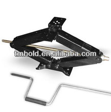 1.5 ton lifting manual cars scissor jack with handles
