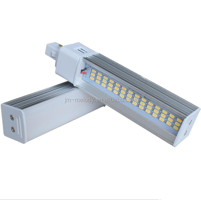 13W New Design G24 led pl light 8w 2pin 4pin g24 led lamp g24 led plc 13w 2-pin 120 degree G23/GX23/G24/E27/E14/Rotatio