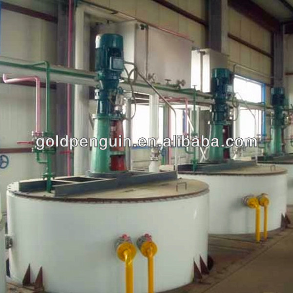 Crude Soybean Oil Production Line