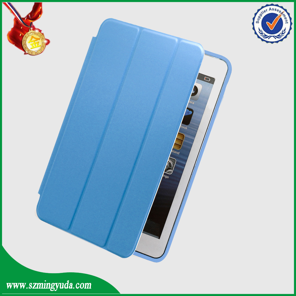 factory for ipad mini pu leather magnetic case competitive price