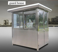 Kinying brand Stainless Steel Simple Design Prefabricated Portable Security Guard House