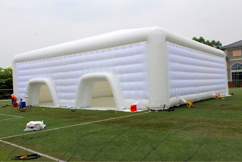 White Big Outdoor Commercial Lawn Wedding Large Party Air Inflatable Concert Tent For Event