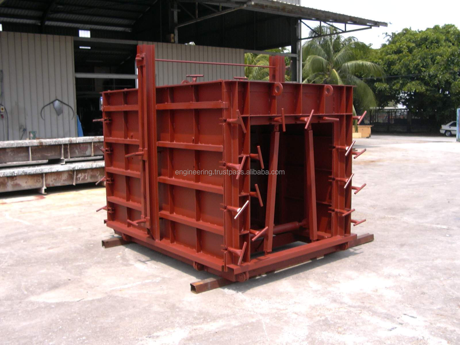 Box Culvert Concrete Mould (without Dry Weather Flow) Made in Malaysia