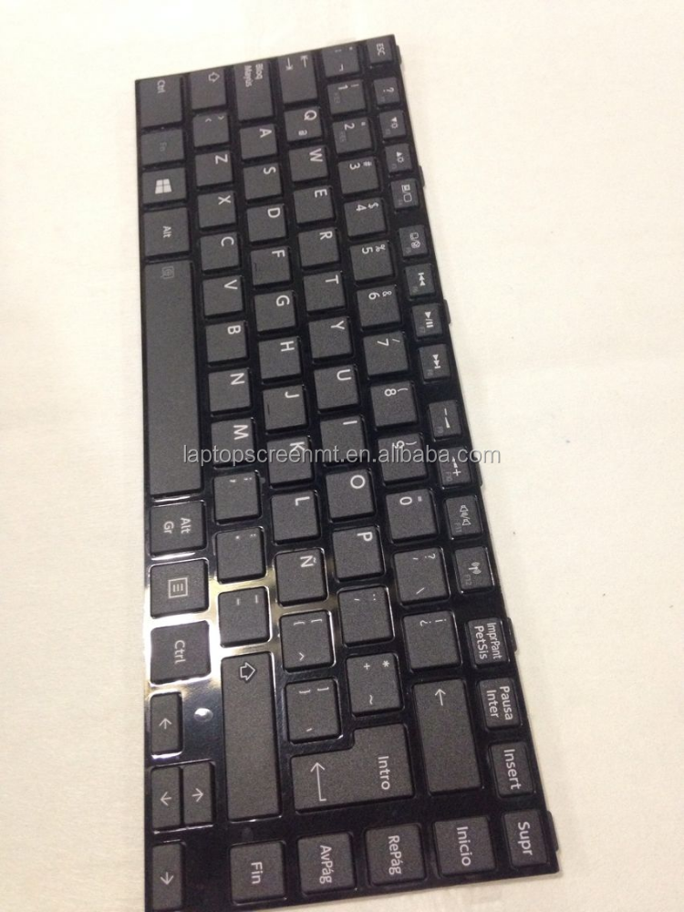Hot sell! SP layout laptop keyboard for Toshiba satellite C845
