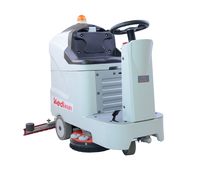 made in china KEDI 660B multifunctional ride-on model floor scrubbing machine