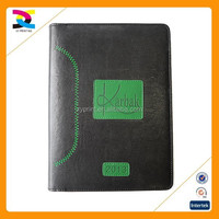2015 Classical Design Customized binding Note Book / Diary