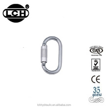 2500kg tow strap hook with 24kn steel carabiner