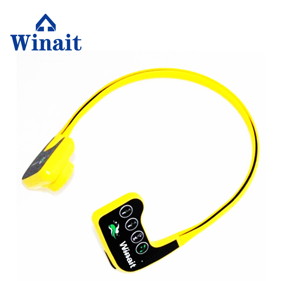 WINAIT waterproof <strong>mp3</strong> bone conduction headset