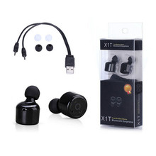 TWS Bluetooth Ear Buds True Wireless Bluetooth 4.1 Headset Stereo TWS Earphone x1t dual earbuds