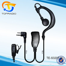 Cheap Police Radio 2 Pin Headset With Mic HYTERA TC-508 TC-518 TC-446 TC-500 TC-510 TC-446 TC-500 TC-510 TC-508 TC-518 TC-600