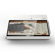 "11.6"" touch screen Android POS /Windows 7 10 POS system with 58mm printer"