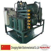 Series ZYD two tanks vacuum oil change machine