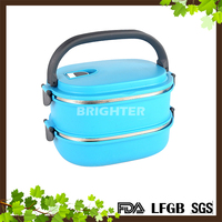 Wholesale Lunch Box For Kids With Plastic And Stainless Steel Material