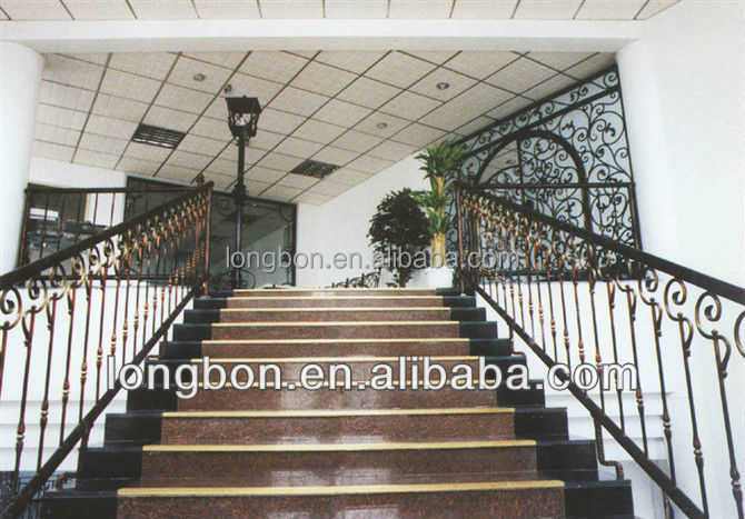 top-selling outdoor modern wrought iron handrail designs