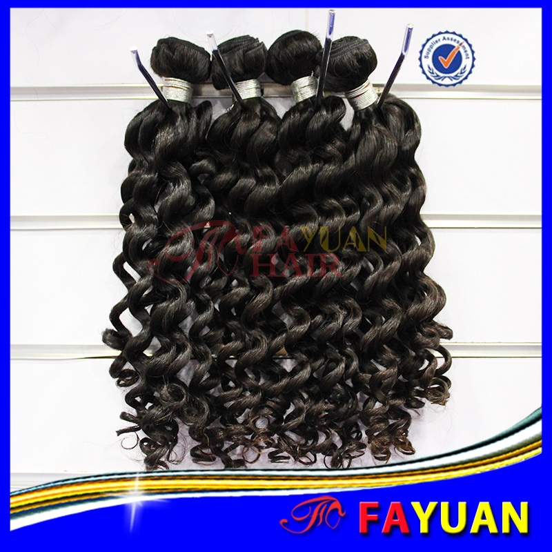 100% unprocessed indian hair deep wave 7a hair cheap human virgin hair