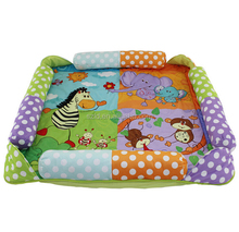 Best Sell Baby Products Super Soft Plush Baby Animal Mat
