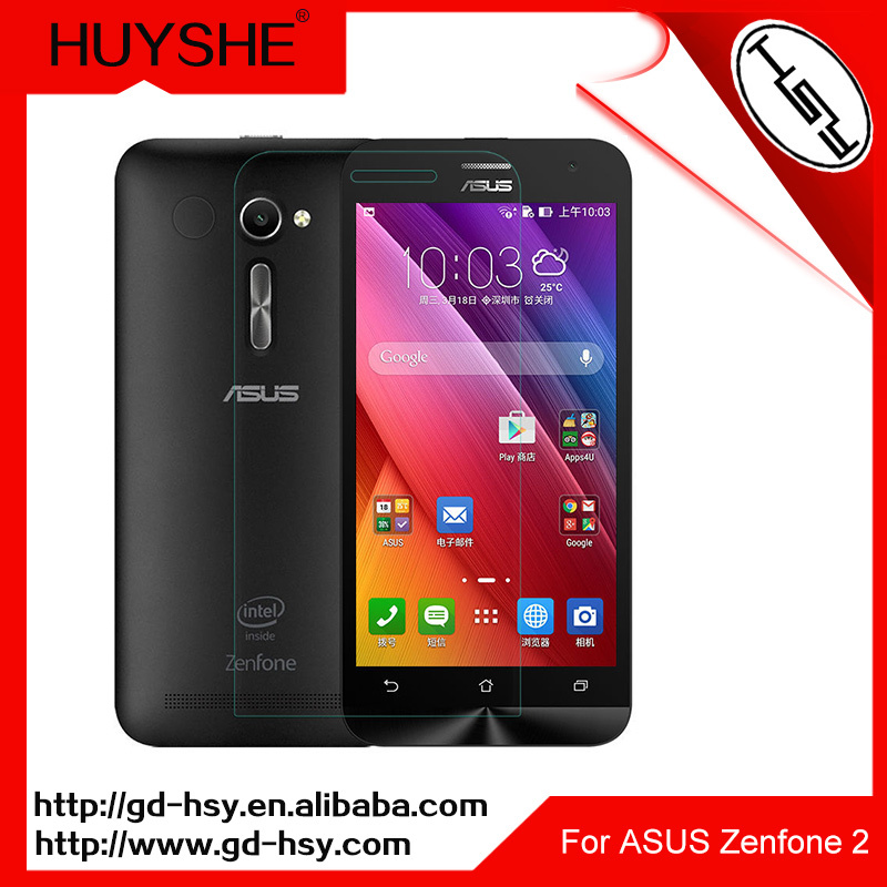 HUYSHE Cell phone screens screen protector for blu-life-play for asus zenfone 2 5.5 inch