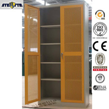 Factory Price ensure maximum security hinged mesh door storage cabinets
