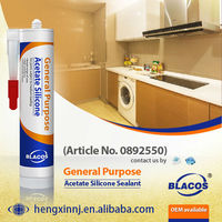 Heat Resistance ( 250C Long Term ) Silicone Based Nonflammable Sealant