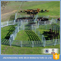 cheap hot dipped galvanized metal cattle panels fencing