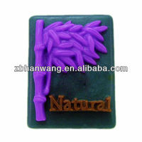 Silicone rubber lovely bamboo soap mould toy soap moulds H0110