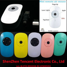 New Mini 2.4G usb wireless air presenter pen mouse