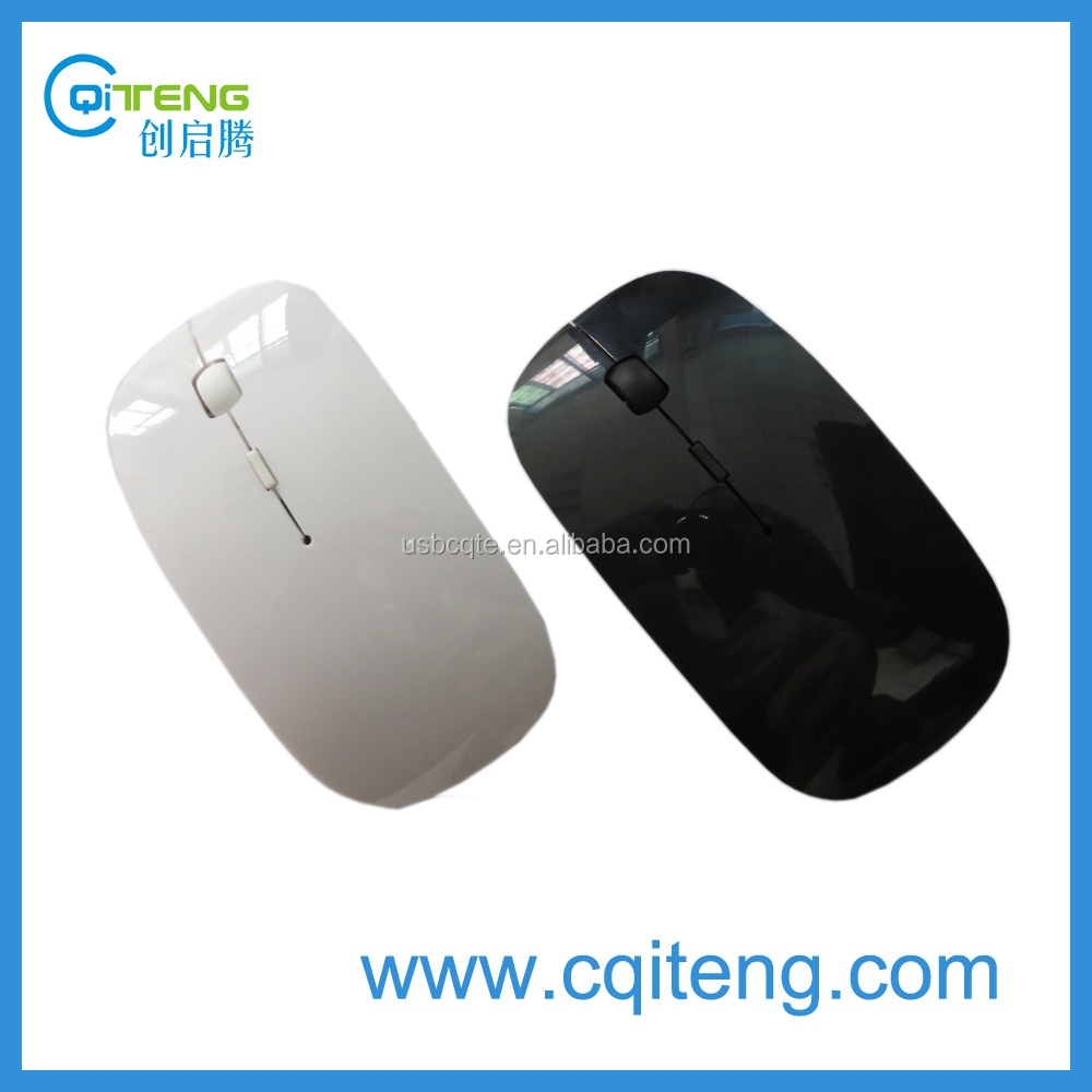 Candy Colours Slim 2.4G Wireless Mouse As Christmas Gift