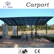 Strong and durable aluminum car parking shade TS-0813 11x16 Single Shelter