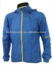 2012 100%polyester ocean blue jacket sports jacket man jacket outdoor jacket man jacket for men