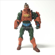 High Detailed Muscle Movable Plastic Action Figures/Custom PVC Movable Action Figure Maker/Create PVC Figurine gift