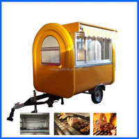 2016 new products used food trucks, food truck pizza, food and beverage restaurant trailer churros cart