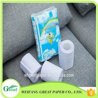 Wholesale thermal roll paper 2 Ply Bath Tissue toilet paper