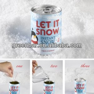 Amazing Instant Snow, 2 Seconds! Just Add Water For Dry Realistic Snow!