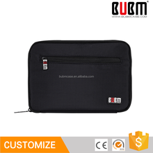 BUBM fashion black lattice 9.7 inch waterproof Nylon Storage tablet pc case