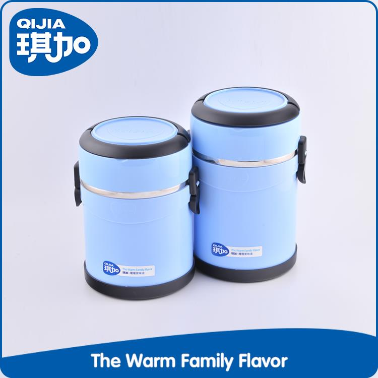 High safety plastic outer office lunch box thermo