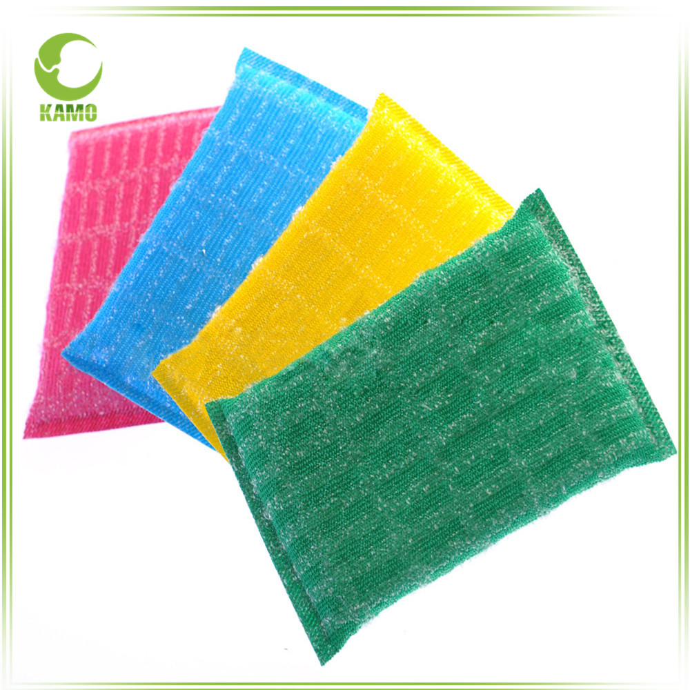 Household cleaning gold silver onion cloth dishwashing abrasive scouring pad