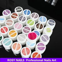 ROSY nails art jars camouflage uv painting gel set