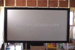 pvc white matt projection screen fabric/Perforated screen/rear projection film/3D Silver screen fabric
