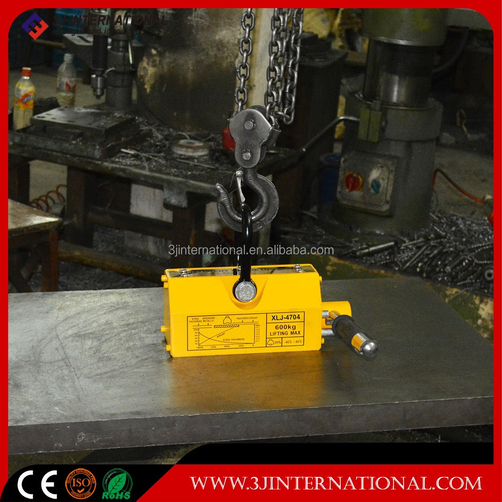 100kg-6000kg Pull Force Magnetic lifter material handing Manual Permanent Lifting Magnet/Magnetic Lifter