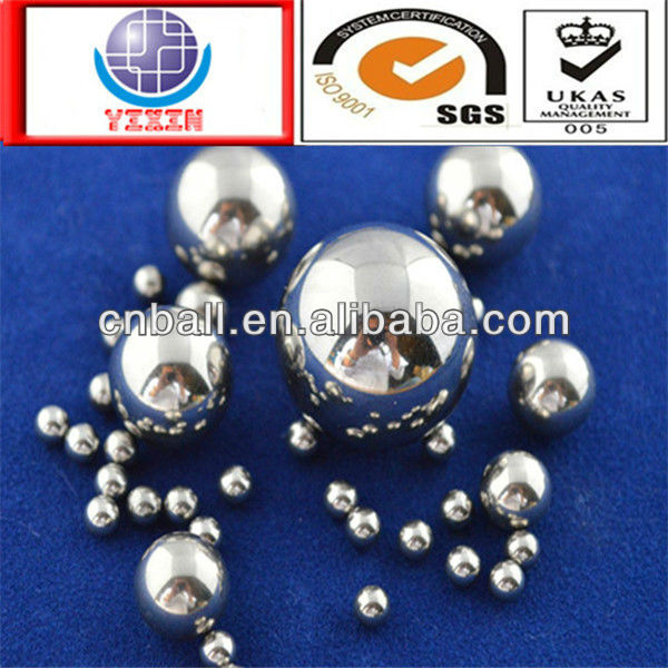 2017 salable typical encironmental 3.175mm 4.5mm 5.556mm 6.35mm 7.144mm 9.525mm 15.875mm stainless steel ball