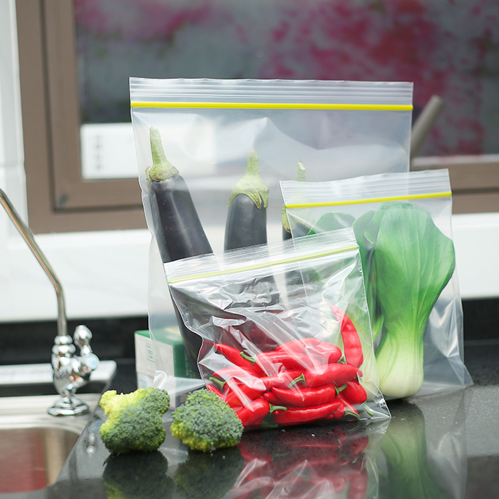food preservation plastik packing single zipper bag