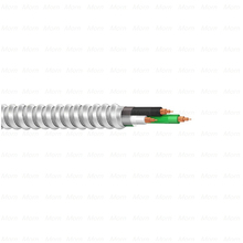 UL 1569 MC Cable 600V Copper Conductors THHN/THWN-2 as Inners Galvanized Steel Interlocked Armor Metal Clad Cable