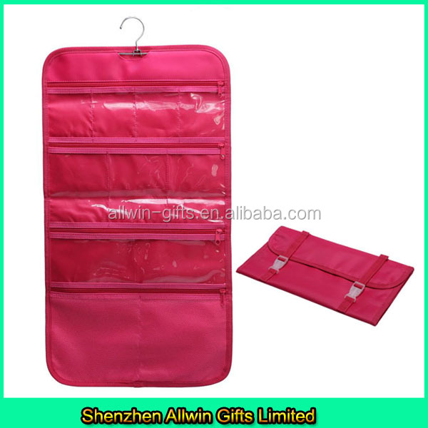 Best sales in US market hanging toiletry bags, roll up toiletry bags