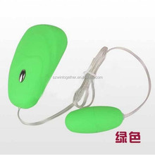 Wireless Fluorescence Computer Mouse Dual Eggs Vibrator for Sex Enjoying