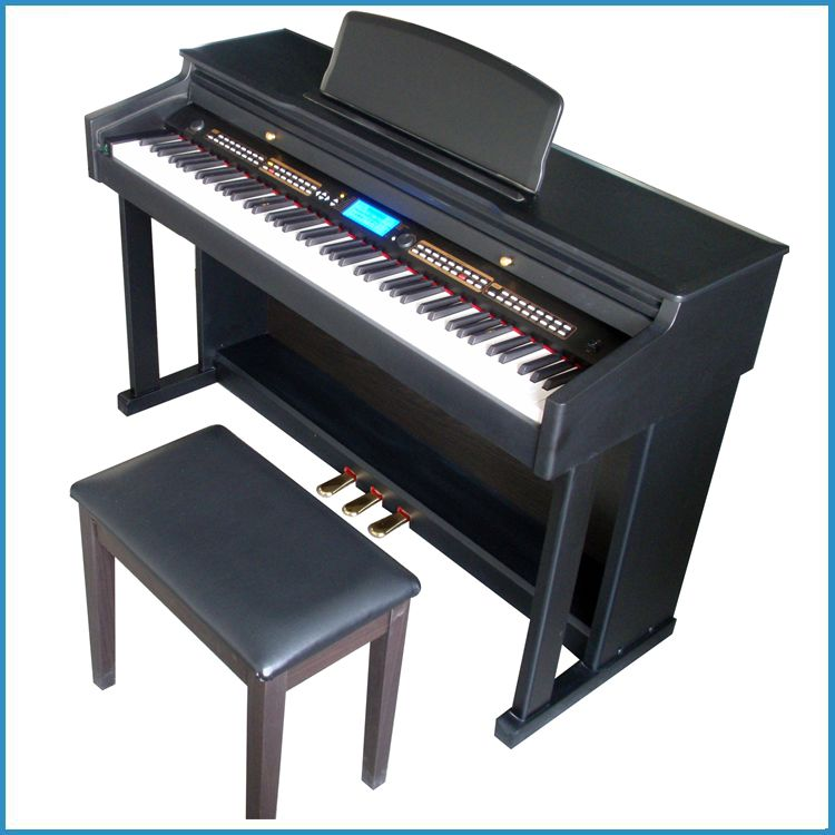 composite shell digital grand piano , piano upright from China , hammer action piano