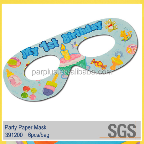 My first birthday party eye mask