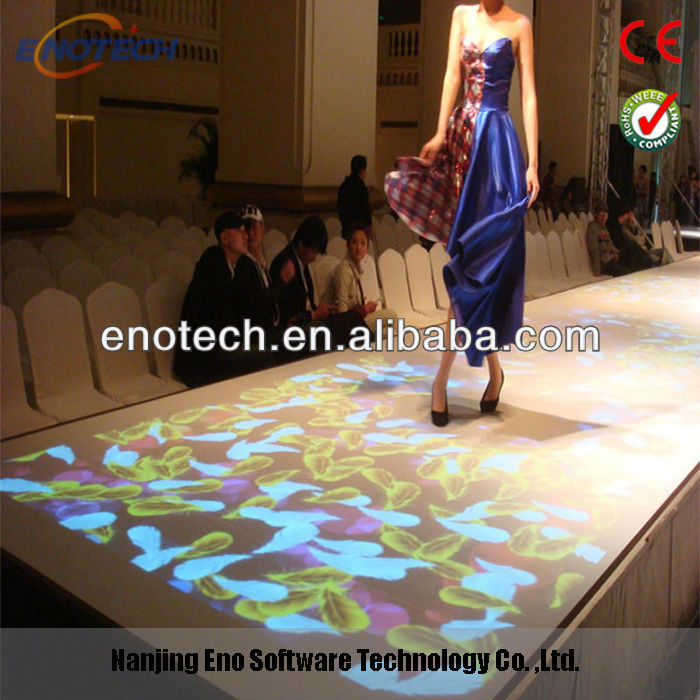 China supplier! interactive floor system for advertising, Convention, Centers, Retail, spaces, Airports, Exhibition spaces